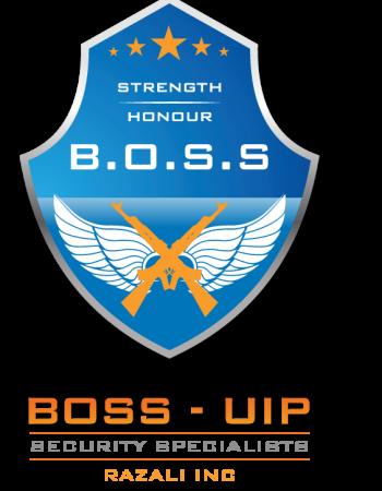 BOSS UIP Security Company Logo icon